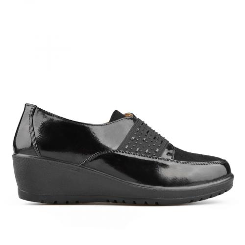 дамски ежедневни обувки черни 0135643