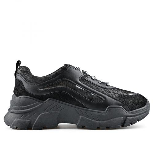 дамски ежедневни обувки черни 0138836