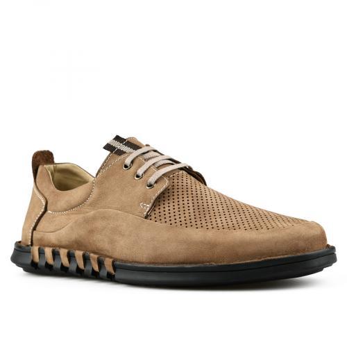 мъжки ежедневни обувки кафяви 0144267