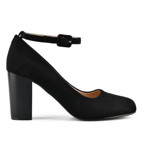 дамски елегантни обувки черни 0141641