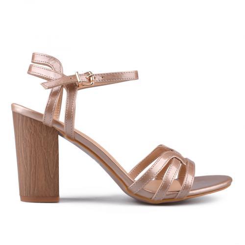 дамски елегантни сандали бежови 0133753