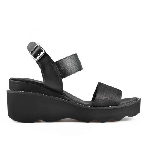 дамски ежедневни сандали черни 0138512