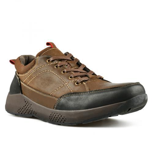 мъжки ежедневни обувки кафяви 0144908