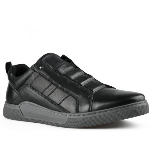 мъжки ежедневни обувки черни 0141922