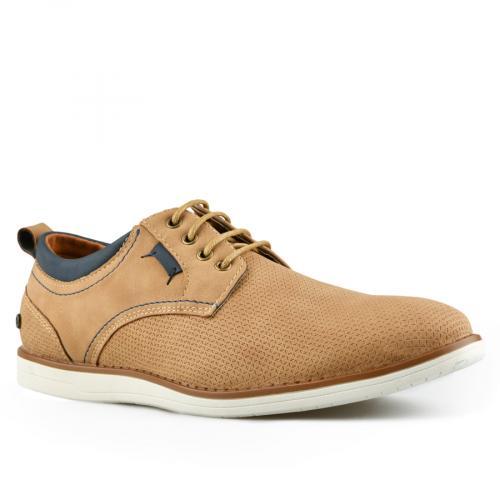 мъжки ежедневни обувки кафяви 0143795