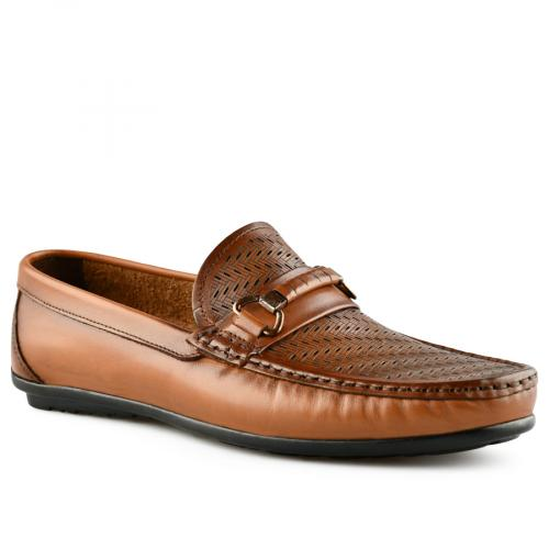 мъжки ежедневни обувки кафяви 0141241