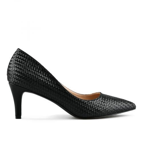 дамски елегантни обувки черни 0142872