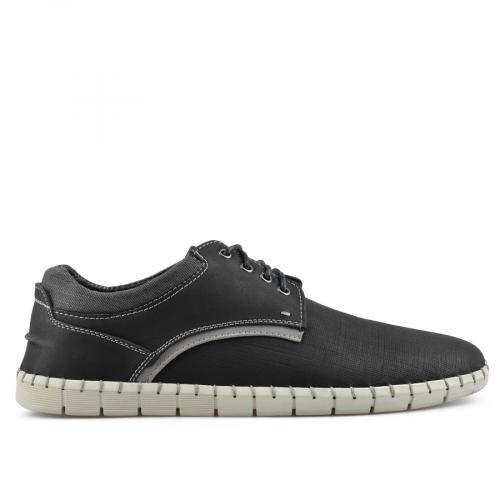 мъжки ежедневни обувки черни 0140552