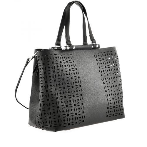 дамска ежедневна чанта черна 0140873
