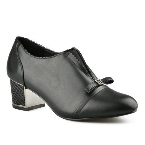 дамски елегантни обувки черни 0141429