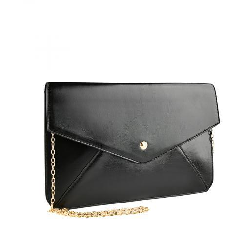 дамска елегантна чанта черна 0140915