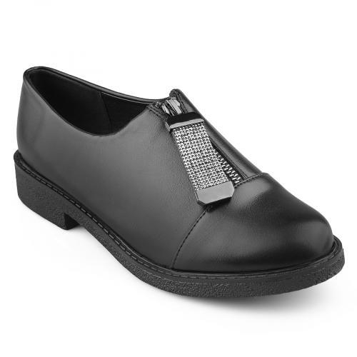 дамски ежедневни обувки черни 0139169