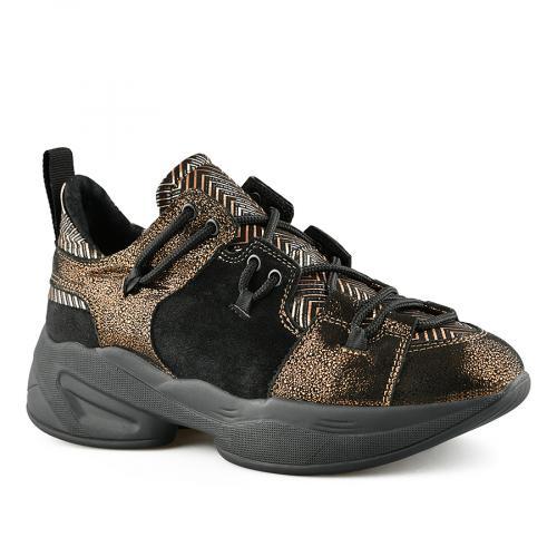 дамски ежедневни обувки черни 0141153