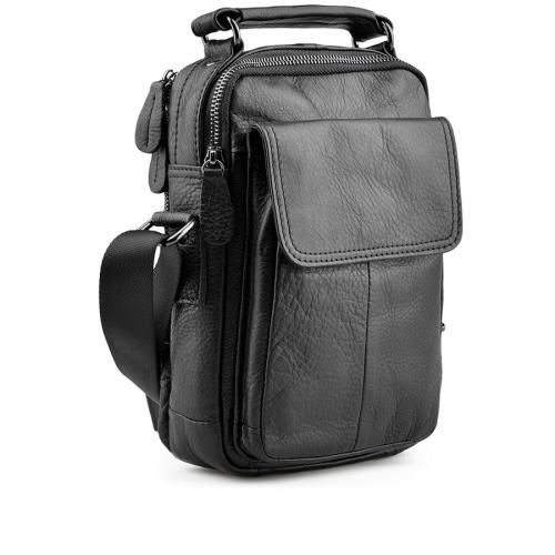 мъжка ежедневна чанта черна 0138048