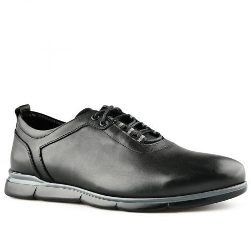 мъжки ежедневни обувки черни 0141191
