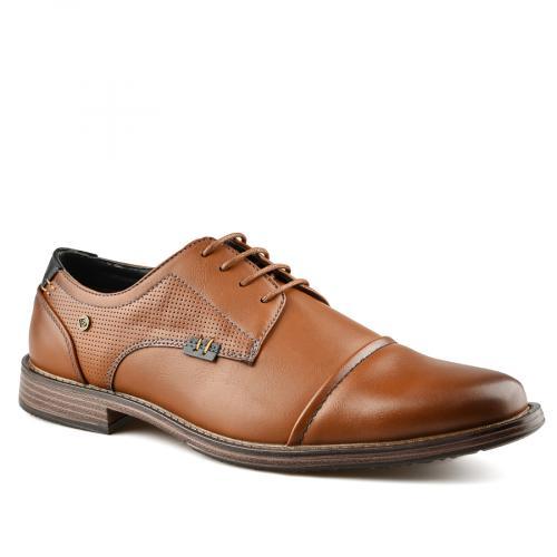 мъжки ежедневни обувки кафяви 0141945