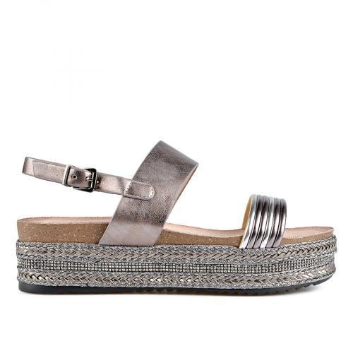 дамски ежедневни сандали сиви 0137668