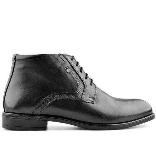 мъжки елегантни боти черни 0139530