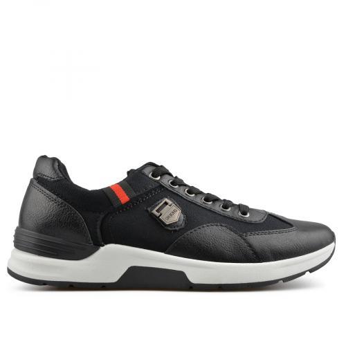 мъжки ежедневни обувки черни 0136916