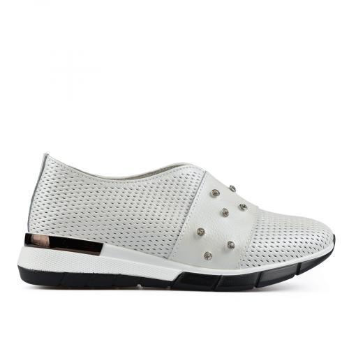дамски ежедневни обувки бели 0137190