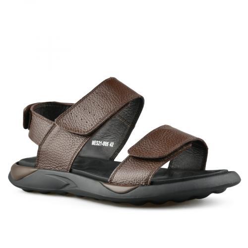 мъжки ежедневни сандали кафяви 0143315