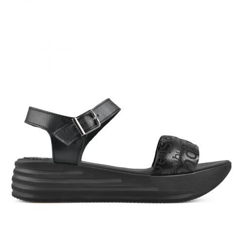 дамски ежедневни сандали черни 0138519