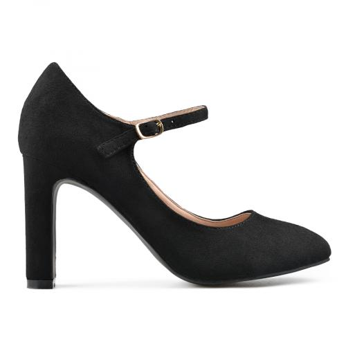 дамски елегантни обувки черни 0139160