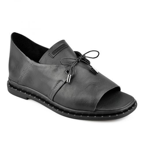дамски ежедневни сандали черни 0138449
