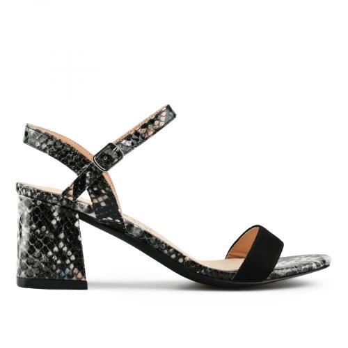 дамски елегантни сандали черни 0143183