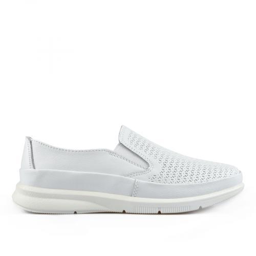дамски ежедневни обувки бели 0137236