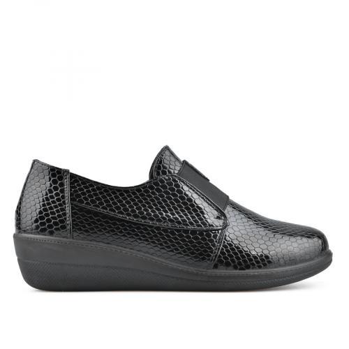 дамски ежедневни обувки черни 0135810