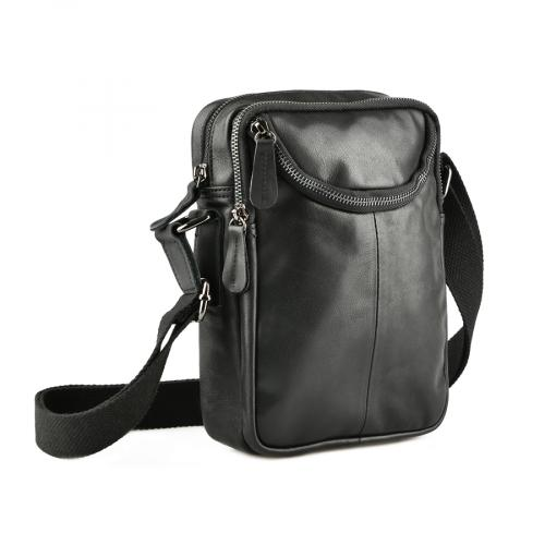 мъжка ежедневна чанта черна 0143864