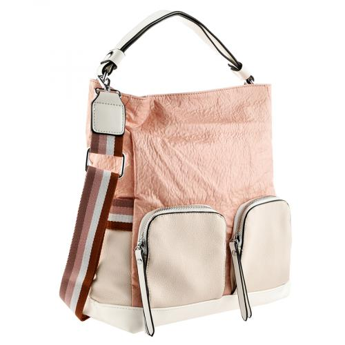 дамска ежедневна чанта розова 0140885