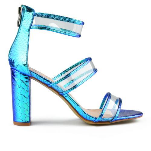дамски елегантни сандали сини 0144369