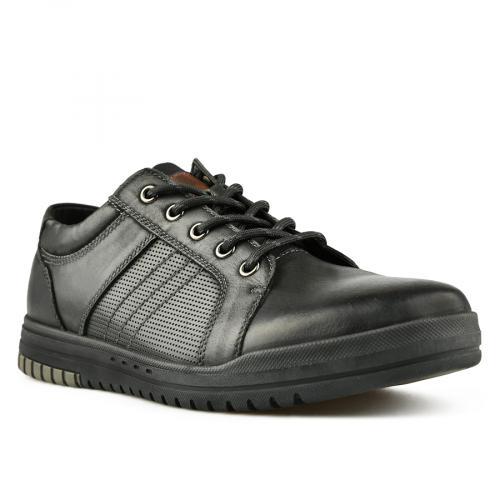 мъжки ежедневни обувки черни 0144906