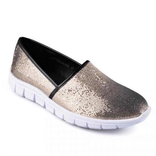 дамски ежедневни обувки златисти 0126829