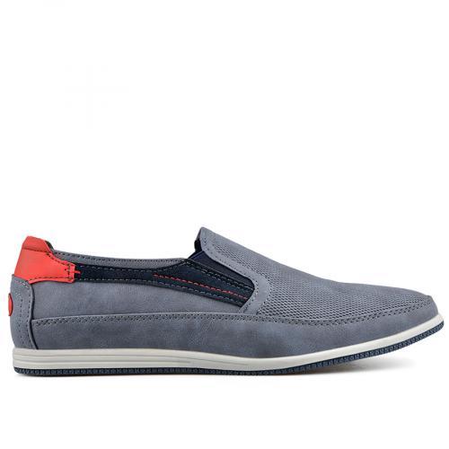 мъжки ежедневни обувки сини 0136991