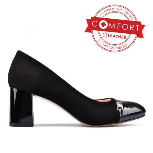 дамски елегантни обувки черни 0131285