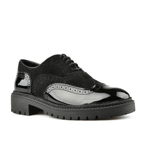 дамски ежедневни обувки черни 0145493