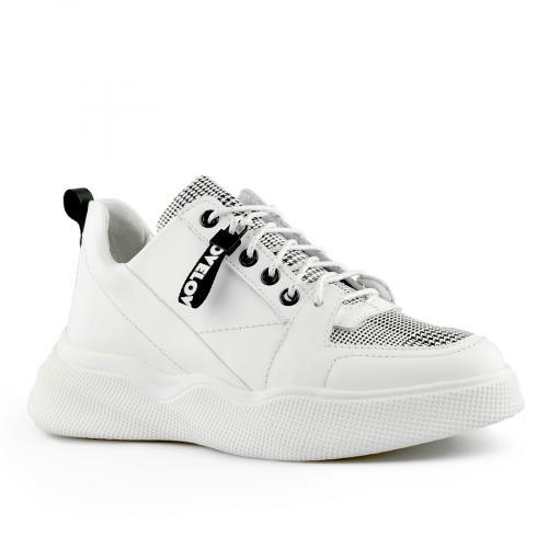дамски ежедневни обувки бели 0141131