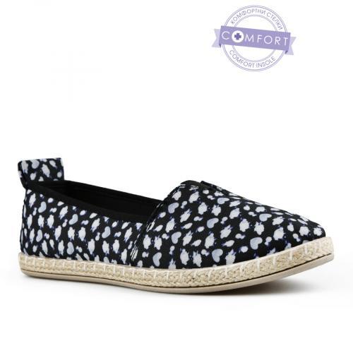 дамски ежедневни обувки черни 0142565