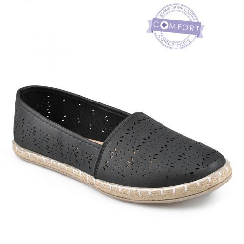 дамски ежедневни обувки черни 0142571