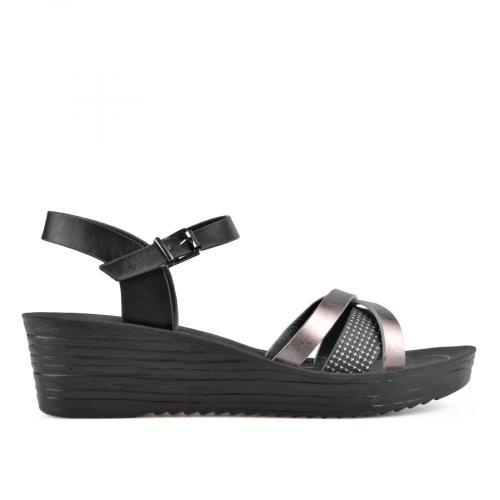дамски ежедневни сандали черни 0137601