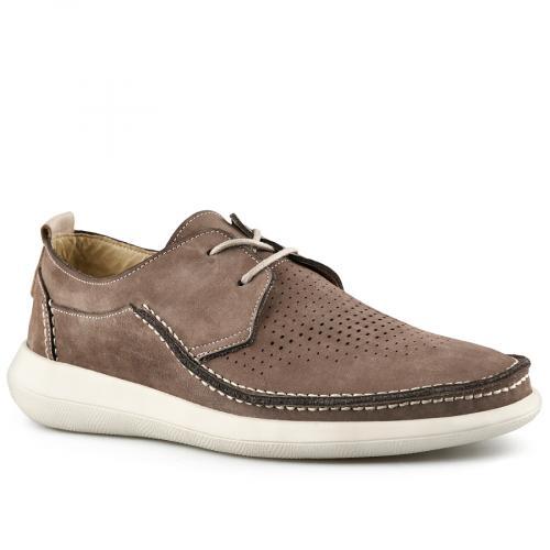 мъжки ежедневни обувки кафяви 0141185