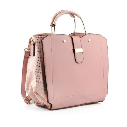 дамска ежедневна чанта розова 0145113