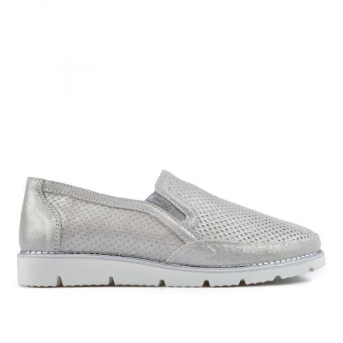 дамски ежедневни обувки сребристи 0137198