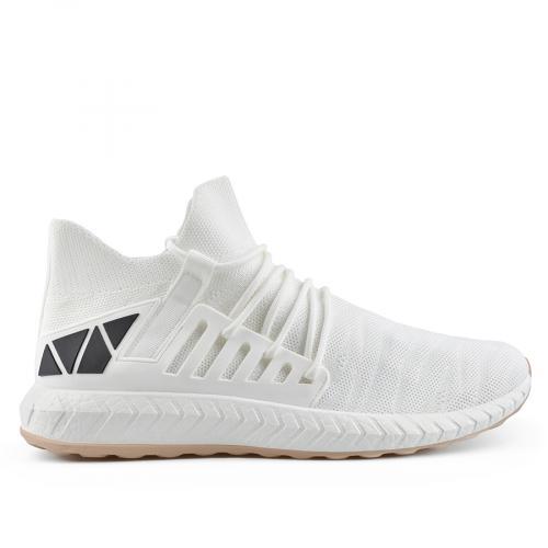 мъжки ежедневни обувки бели 0136949