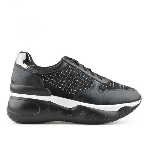 дамски ежедневни обувки черни 0139394