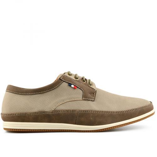 мъжки ежедневни обувки бежов 0140547