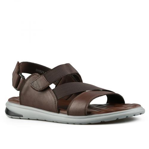 мъжки ежедневни сандали кафяви 0143470